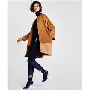 Zara fall coat women's M